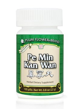 Plum Flower Brand Teapills Pe Min Kan Wan