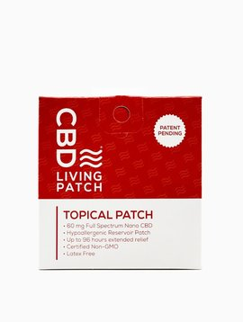 CBD 96 hr. Topical Patch - 1 pack