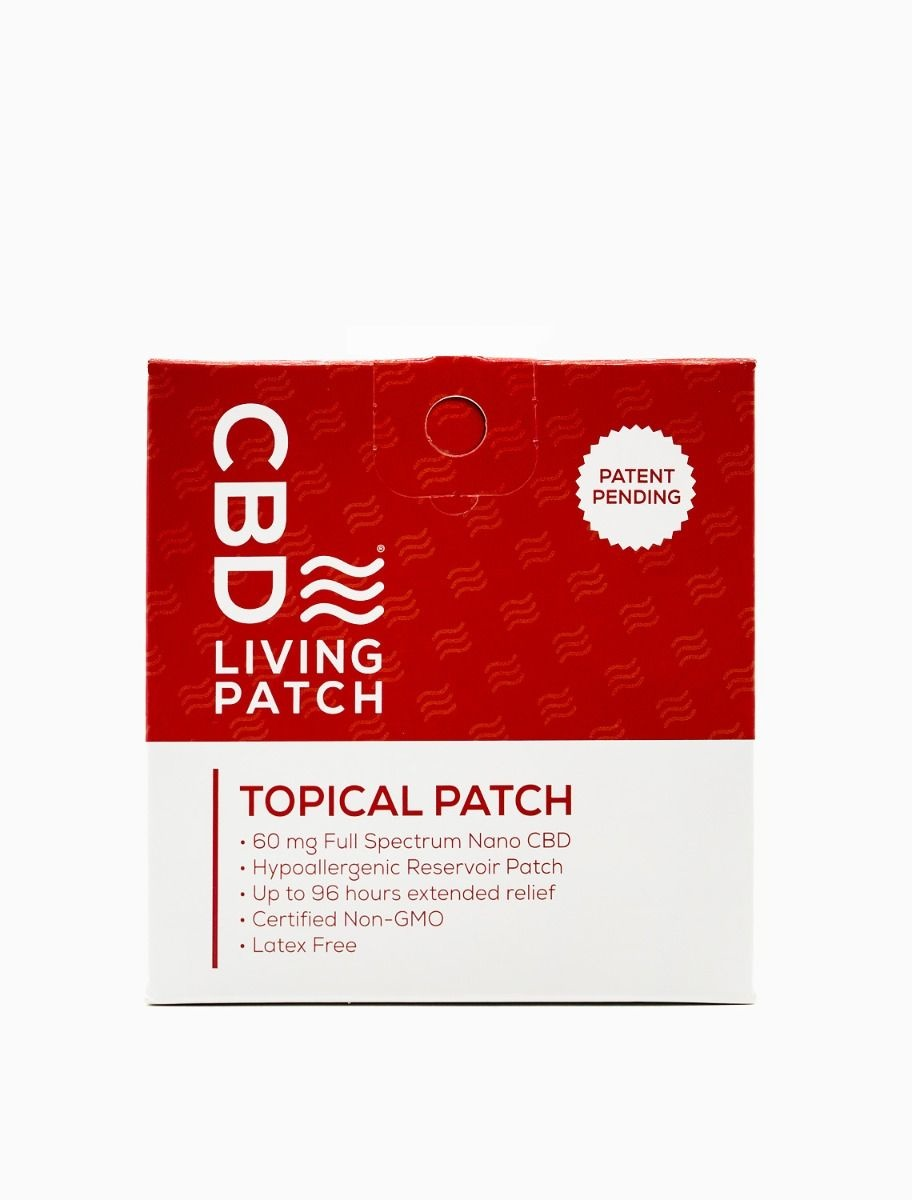 Hemp 96 hr. Topical Patch - 1 pack