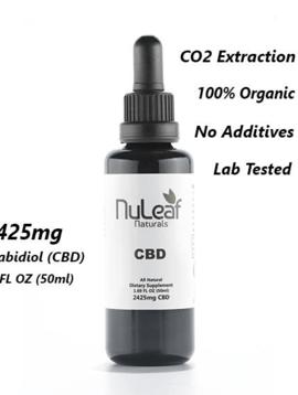 Hemp Oil (Nu Leaf) 2425 mg - 50 ml bottle