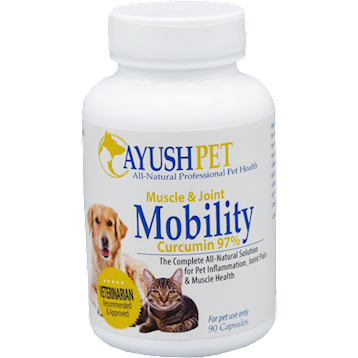 Muscle and Joint Mobility Pet Curcumin - 90 caps