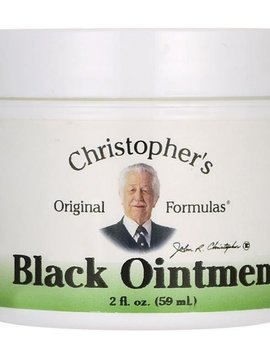 Dr. Christopher's Black Ointment - 2 oz