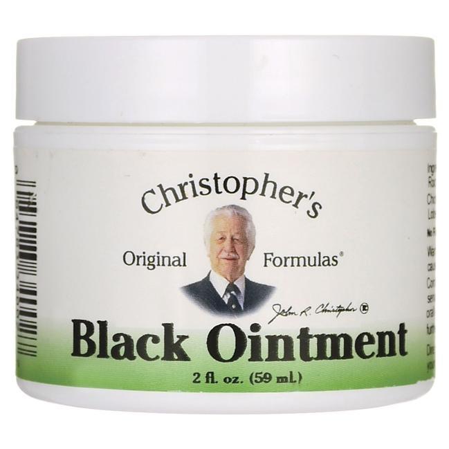Dr. Christopher's Black Ointment - 2 oz