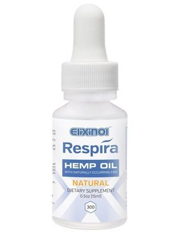 Hemp Respira (Elixinol) natural flavor 300mg