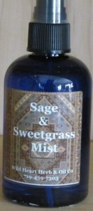 Thymekeeper Sage/Sweetgrass Mist spray  - 4 fl. oz.
