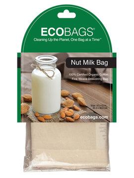 """Nut Milk Straining Cotton Drawstring Bag 10""""x 12"""""""