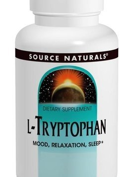Source Naturals Aminos L-Tryptophan 60 capsules 500MG