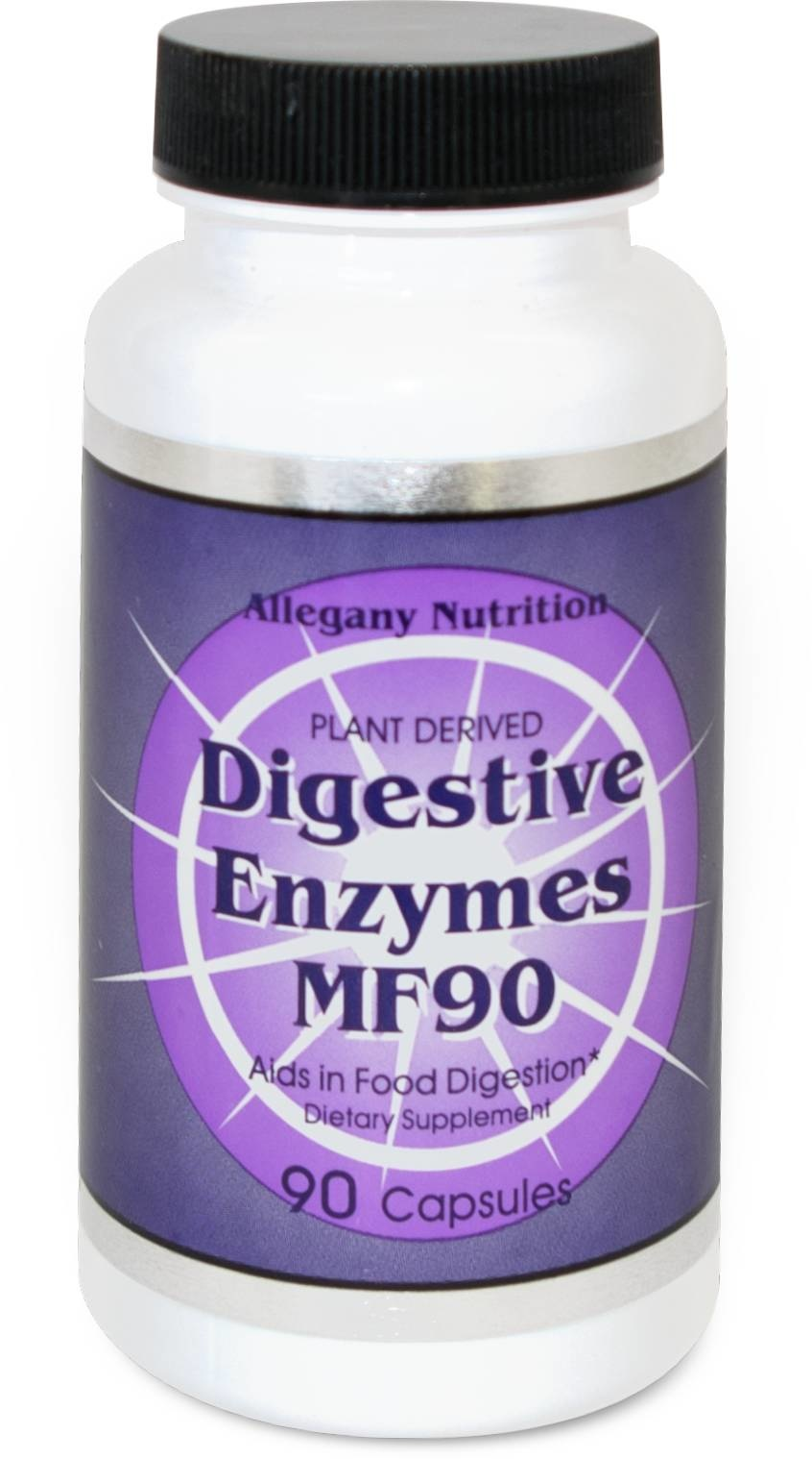Enzymes Allegany Digestive MF Series - 90 caps