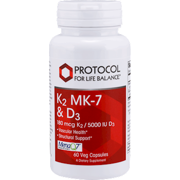 K2 MK-7 & D3 60 vegcaps