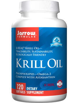 Jarrow Krill Oil softgels