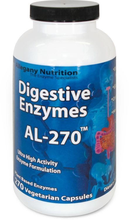 Enzymes Allegany Digestive AL Gluten Free Series