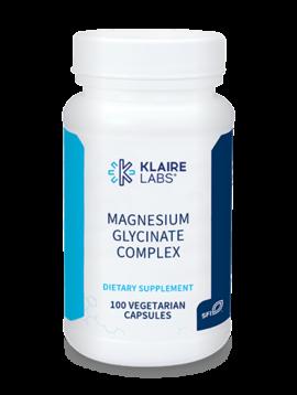 Klaire Labs Magnesium Glycinate - 100 vcaps