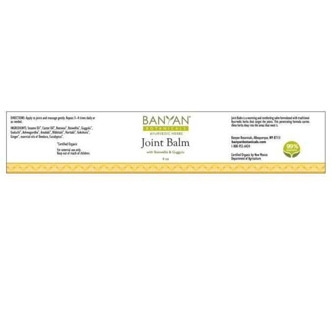 Joint Balm (Banyon) 4 oz