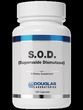 SOD Superoxide Dismutase 100 vegcaps