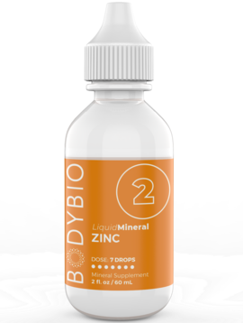 Body Bio Liquid Zinc Trace Minerals  (#2) - 2 oz