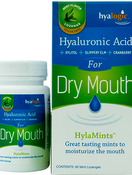 HylaMints - Dry Mouth Lozenges 60 ct