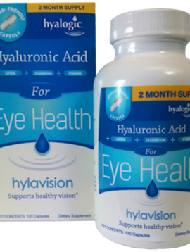Hylavision Eye Health w/HA 120 cap
