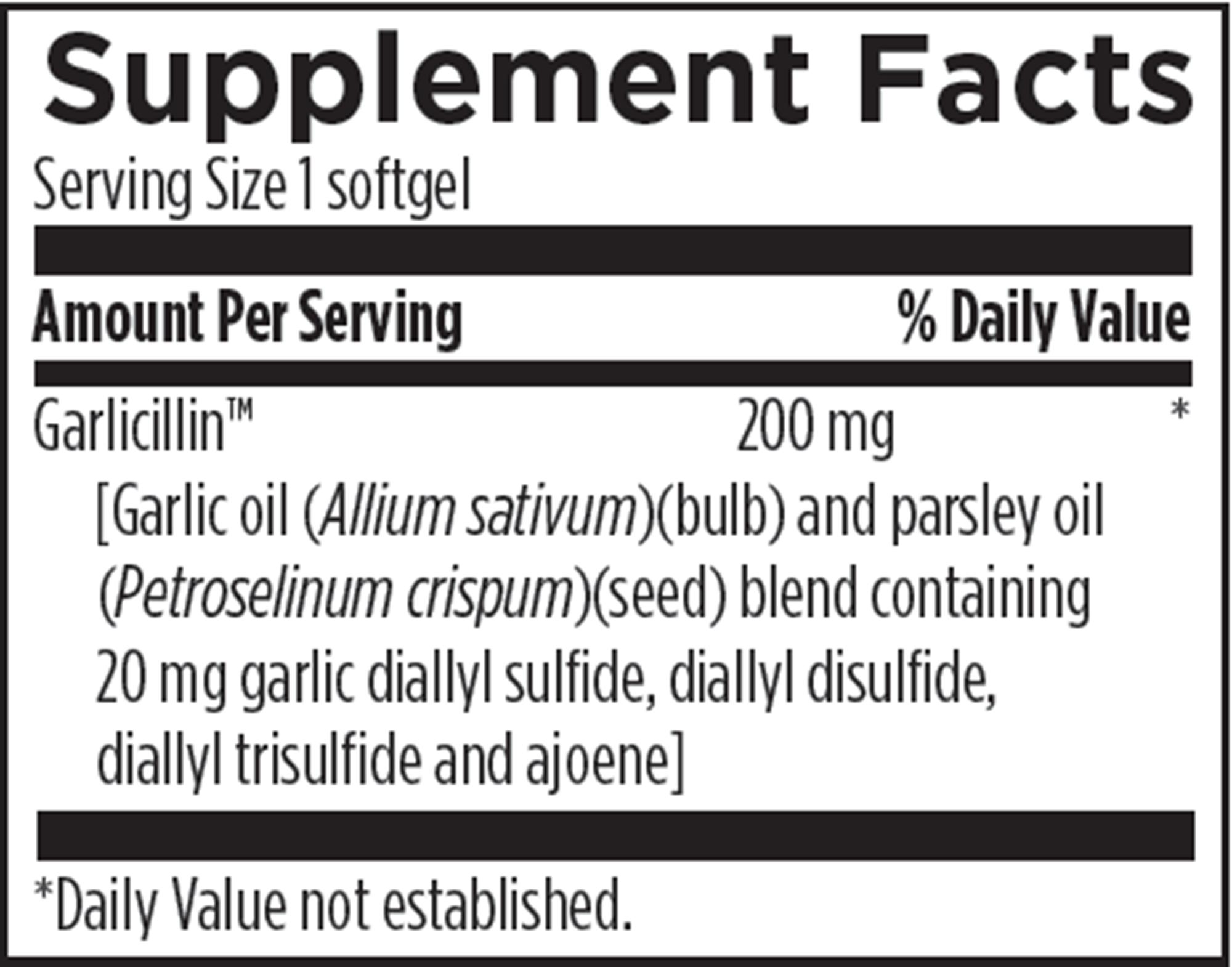 Allicillin - 60 Softgels