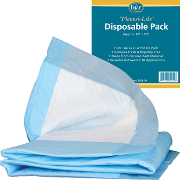 Baar Castor Oil Pack - Disposable