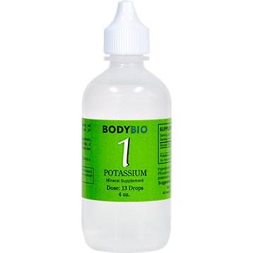 Body Bio Liquid PotassiumTrace Minerals (#1 ) - 4 oz