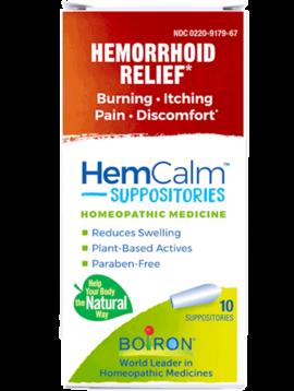 HemCalm Suppositories 10ct