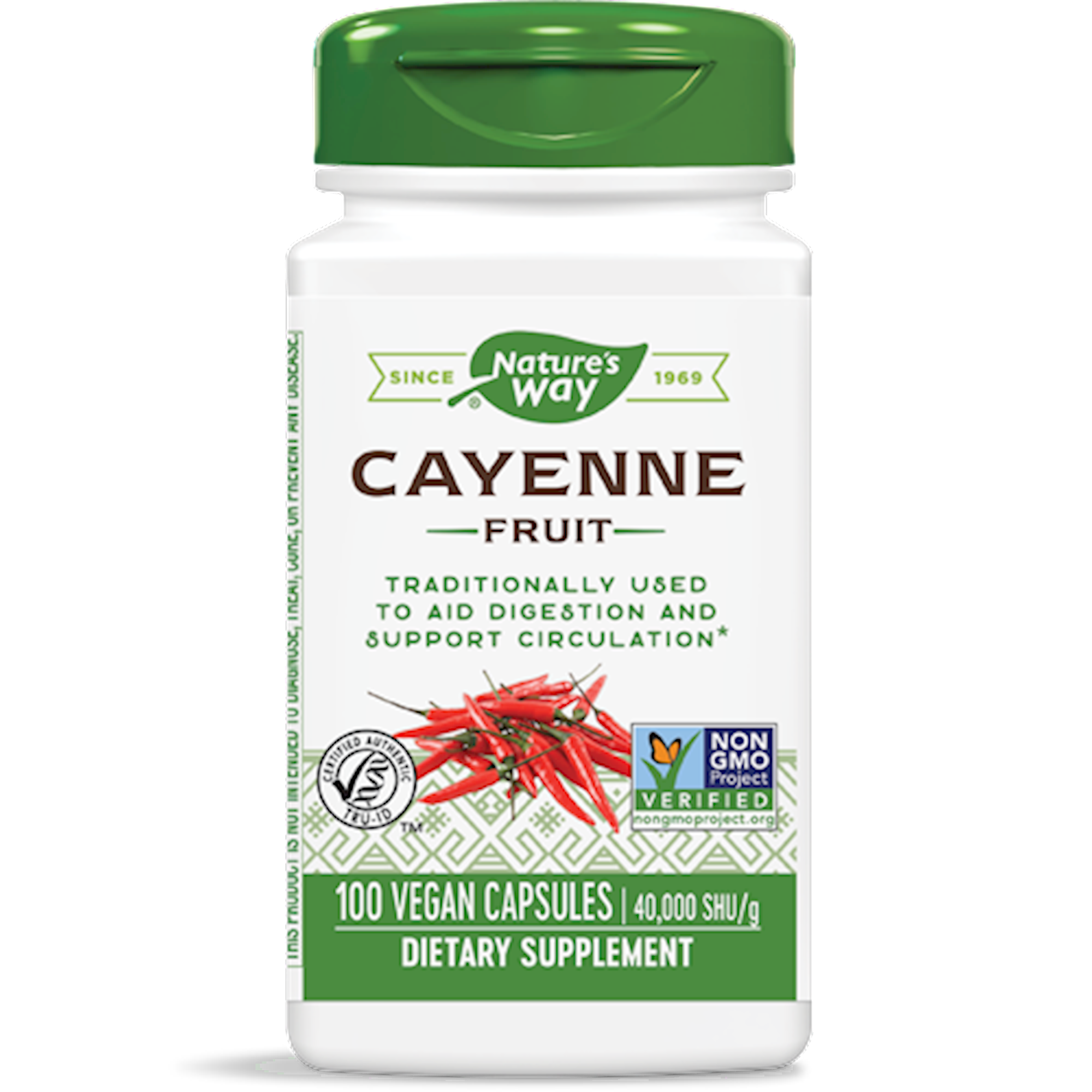 Nature's Way Products Cayenne Pepper 40,000 hu 100 caps