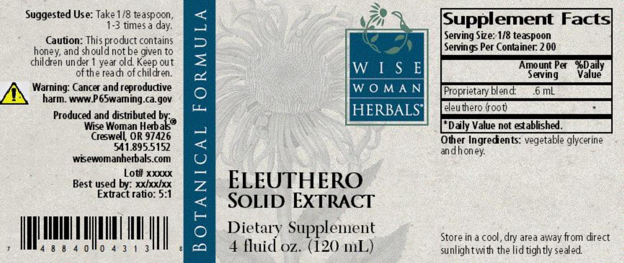 Eleuthero Solid Extract