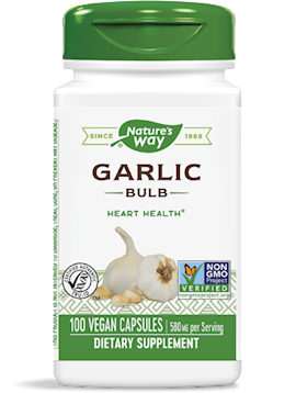 Garlic Bulb 580 mg 100 vegcaps