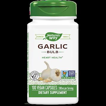 Garlic Bulb 580 mg 100 vegcaps