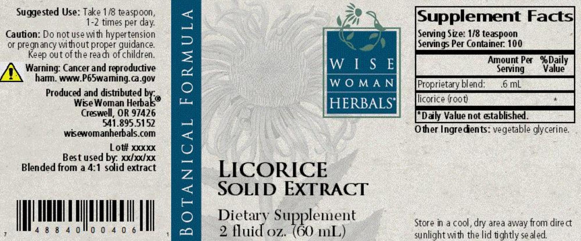 Licorice Solid Extract