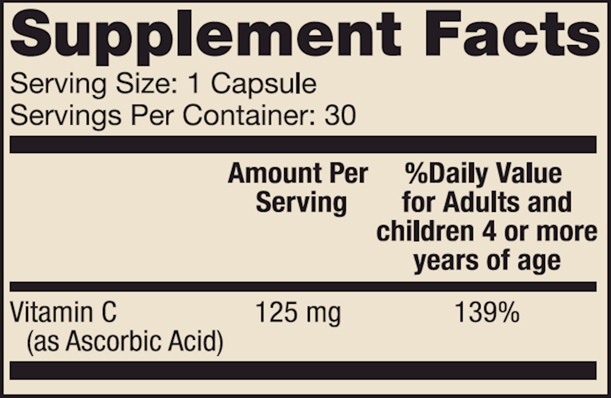 Liposomal Vitamin C for Kids 30 caps
