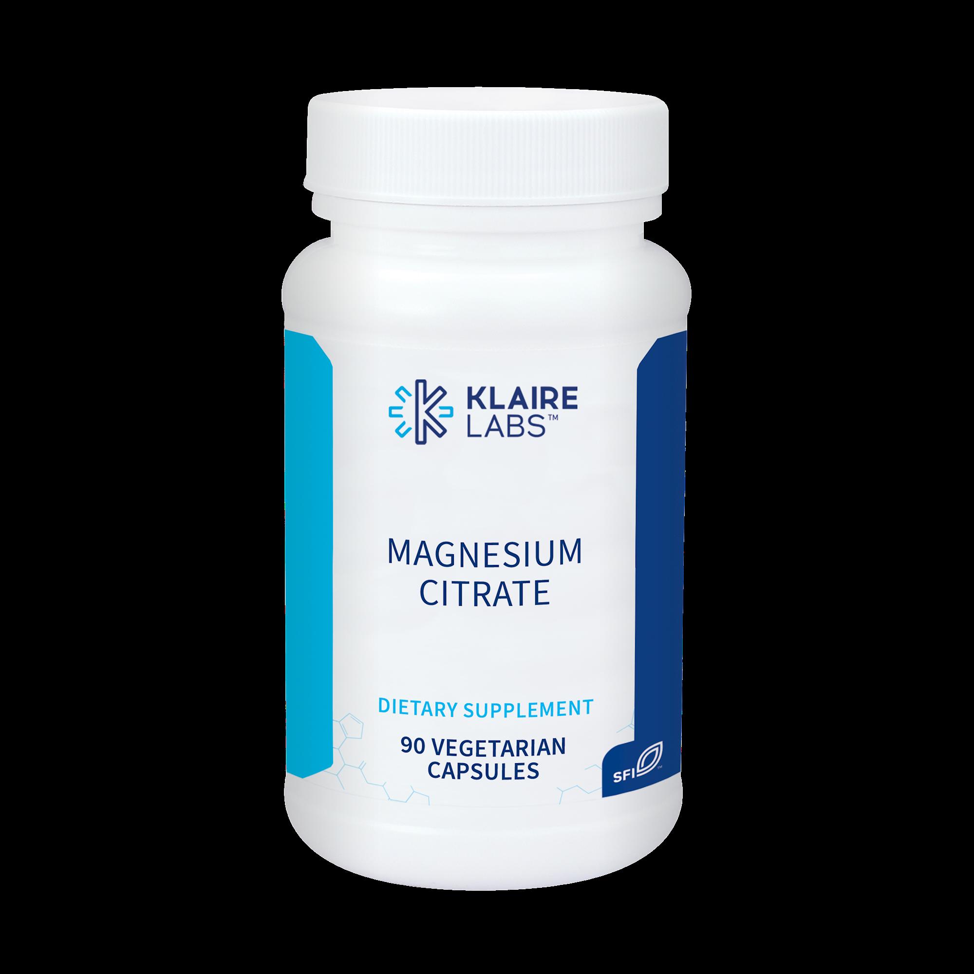 Magnesium Citrate 150 mg  90 vegcaps
