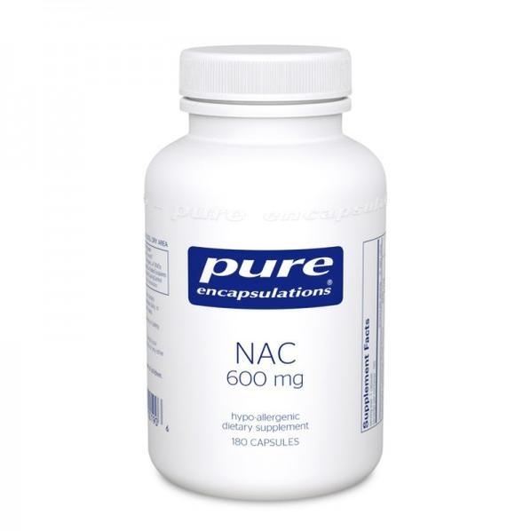 NAC 600 mg 180 vegcaps