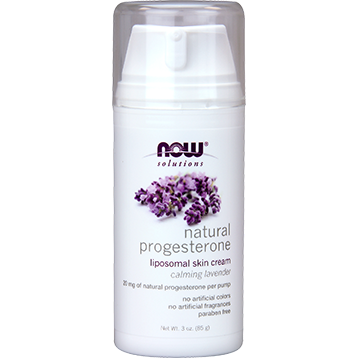 Natural Progesterone Cream 3 oz Lavender