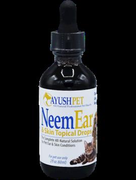 Pet Neem Ear & Skin Topical Drops 2 oz