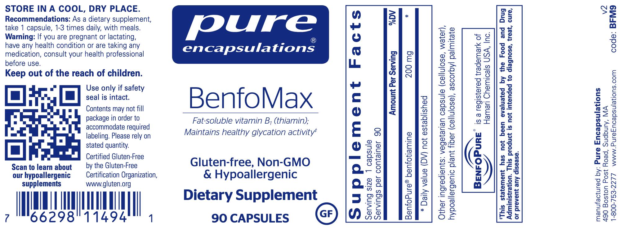 BenfoMax 90 vegcaps