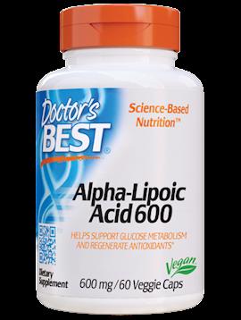 Alpha-Lipoic Acid 600 mg 60 vegcaps