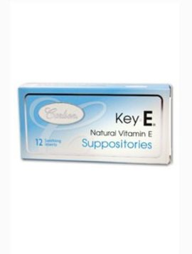 Carlson Laboratories, Inc. Carlson - Key-E Suppositories -- 12 ct