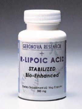 GeroNova Research, Inc. R-Lipoic Acid 60 caps