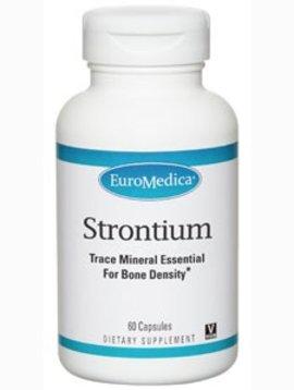 EuroMedica Strontium  340mg - 60 caps