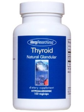 Thyroid Natural Glandular 100 vegcaps