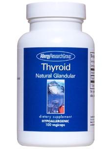Thyroid Natural Glandular 100 vegcaps