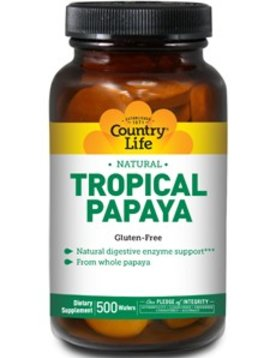 Country Life Enzymes (Papaya Chewables)