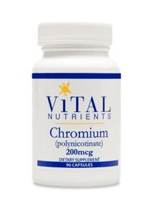Vital Nutrients Chromium 200 mcg 90 caps
