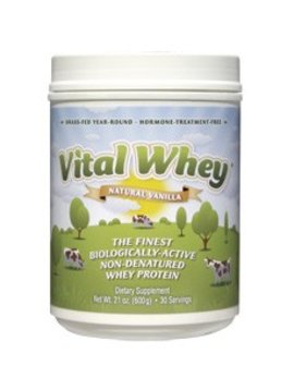 Well Wisdom Vital Whey, Vanilla - 21 oz