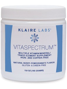 Klaire Labs Vitamin VitaSpectrum Berry-Pomegranate 5.8 oz