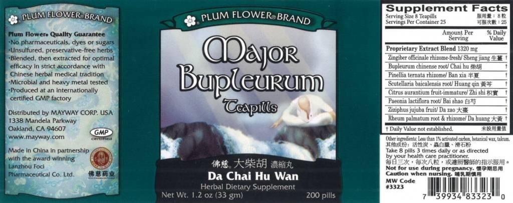 Plum Flower Brand Minor Bupleurum 120 Teapills