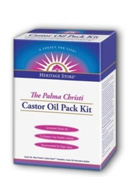 Castor Oil - Cold Pressed, Hexane Free,- 16 oz  - Sage