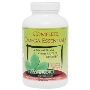 Natura Health Products Complete Omega Essentials - 120 softgels