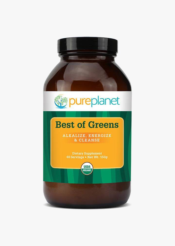 Pure Planet Best of Greens 150gm-powder